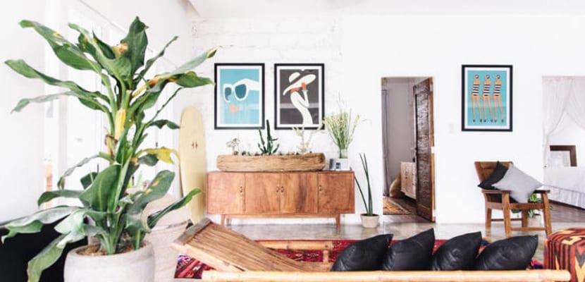 Casa en bali en estilo natural