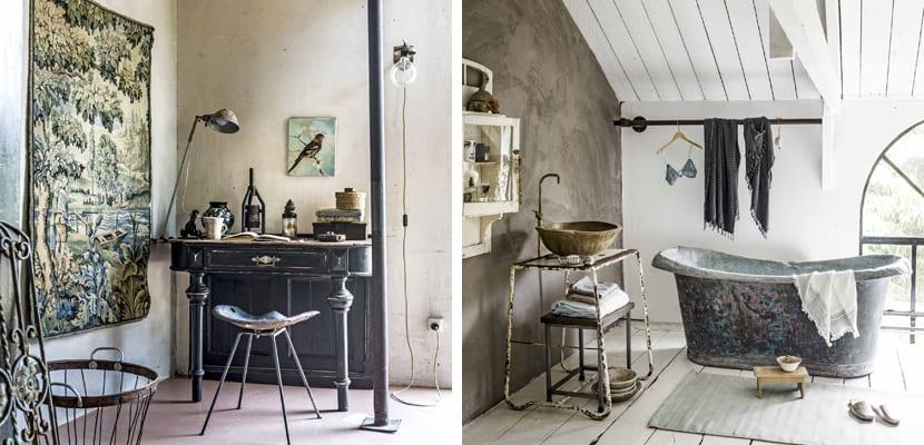 Casa en estilo vintage con bonitos detalles for Casas estilo vintage