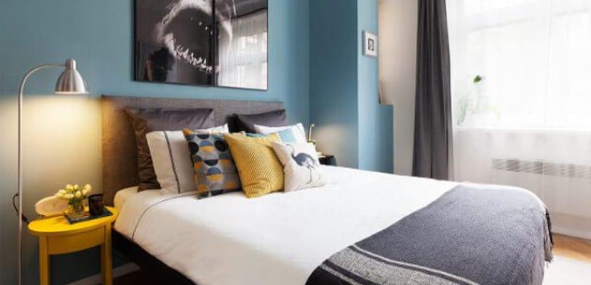 Dormitorio con Ikea