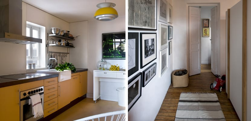 Casa rural decorada en estilo moderno for Cocina estilo moderno