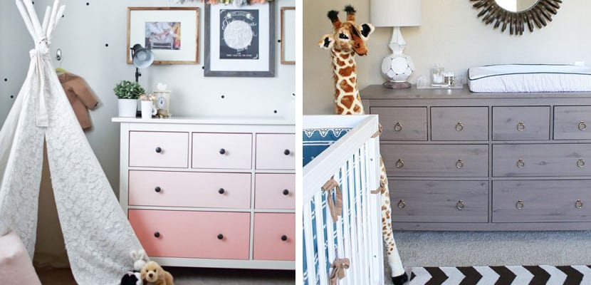 Ideas para decorar con la c moda hemnes de ikea for Como tunear muebles de ikea