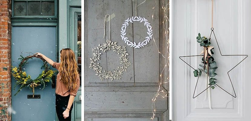 Adornos navide os que debes tener en tu casa - Adorno puerta navidad ...