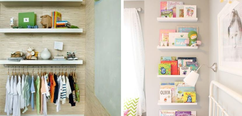 Ideas para decorar con la estanter a lack de ikea - Estanteria pared infantil ...