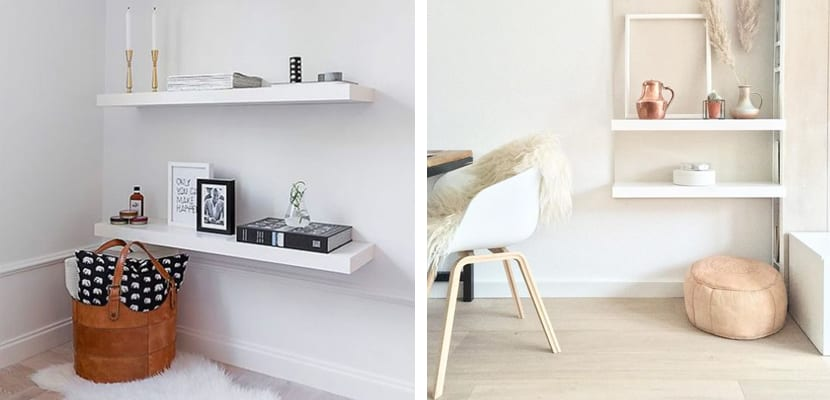 Ideas para decorar con la estanter a lack de ikea - Estanteria nordica ...