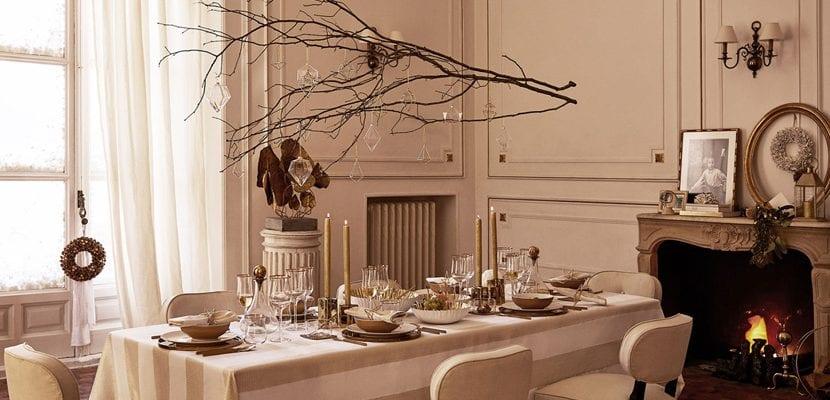 C mo decorar la mesa de navidad - Zara home navidad ...