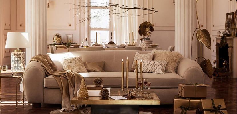 Salón navideño Zara Home