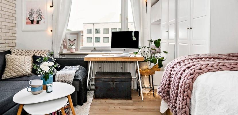 Apartamento acogedor con espacios peque os for Aggiungendo una stanza al garage