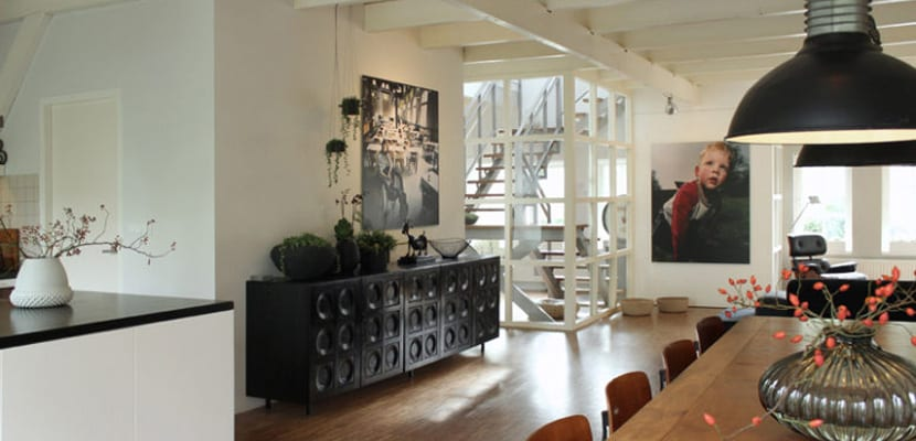 Apartamento en estilo moderno