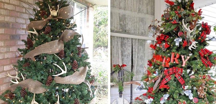 c mo decorar al rbol de navidad exterior