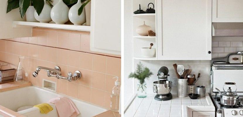 Utilizar azulejos en la encimera de la cocina for Azulejos para cocina 2016