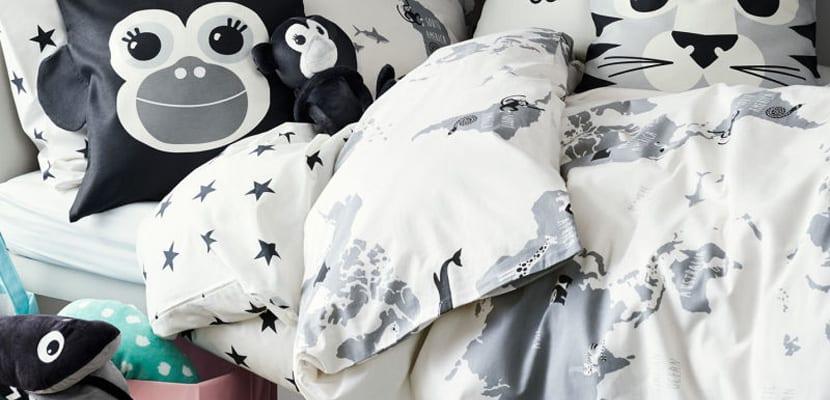 Colección infantil de textiles