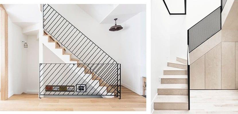 Barandillas met licas contempor neas para tu escalera - Barandillas de escaleras ...