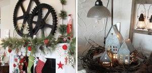 Navidad en estilo industrial