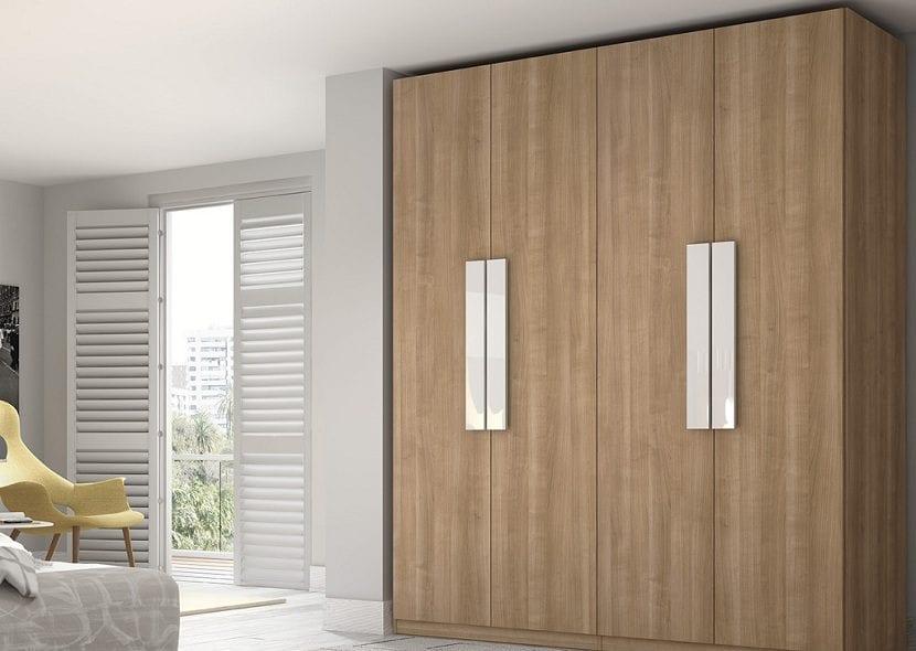 Tipos de puertas para un armario empotrado - Puertas plegables para armarios ...
