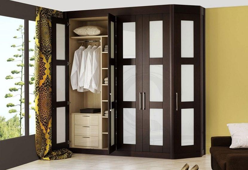 Tipos de puertas para un armario empotrado - Puertas plegables armarios empotrados ...