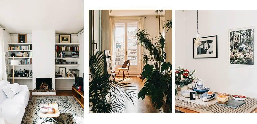 Apartamento en Barcelona con plantas
