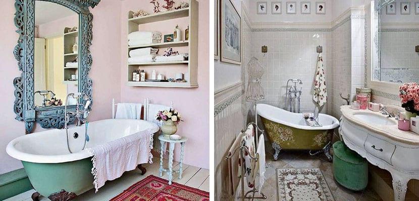 4 ideas para decorar con muebles vintage for Banos estilo vintage
