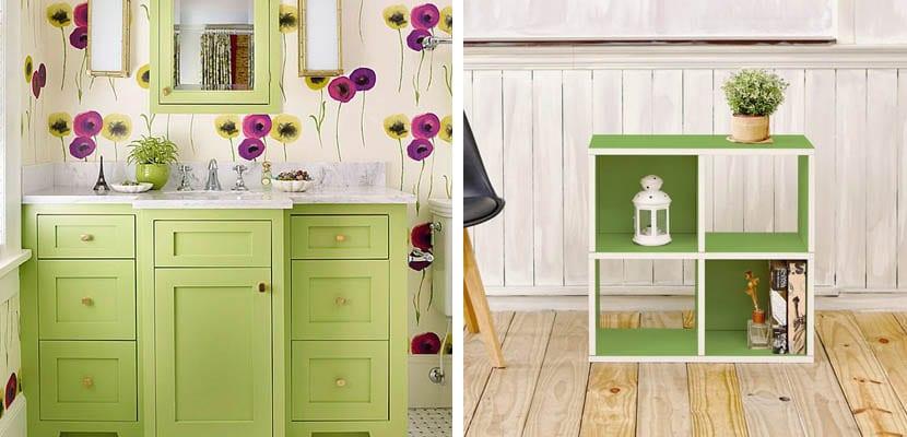 Muebles verdes