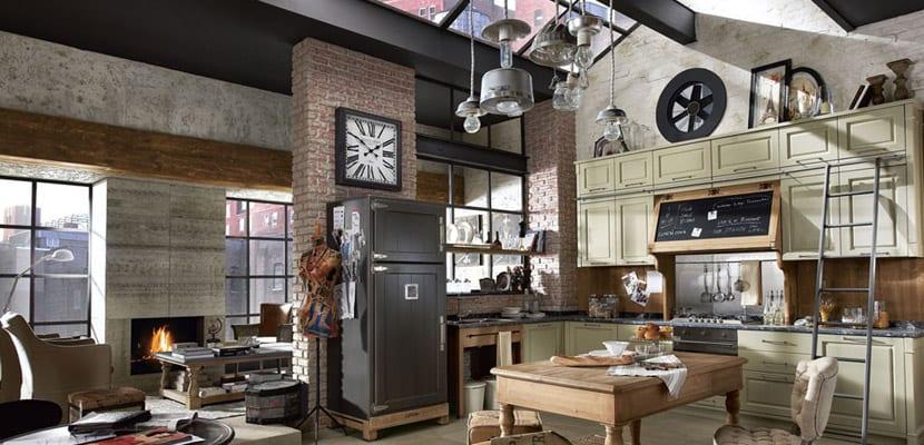 C mo crear un estilo industrial en casa for Casas de estilo industrial