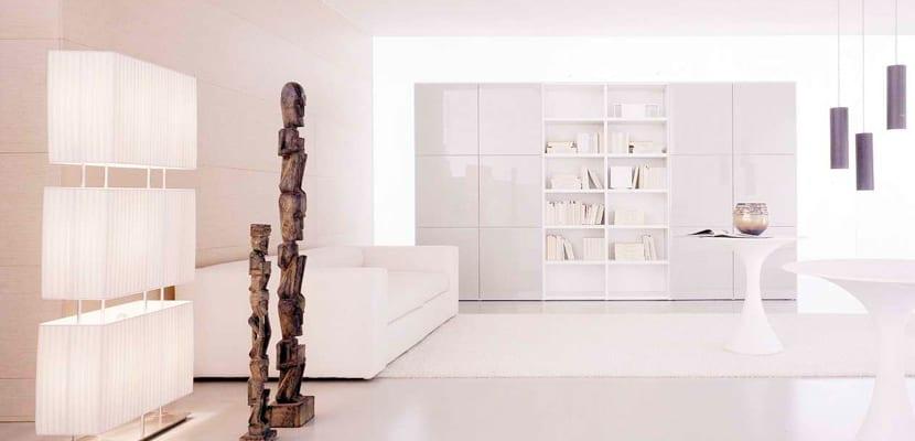 Salón minimal