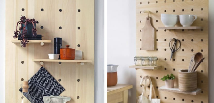 Paneles perforados para usar en la cocina for Paneles acrilicos para frentes de cocina