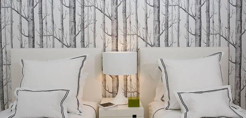 Papel pintado de árboles