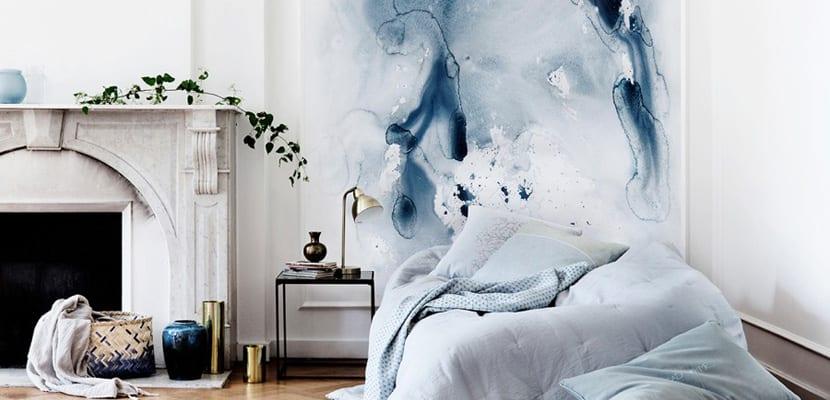 C mo pintar las paredes de forma original - Pinturas al agua ...