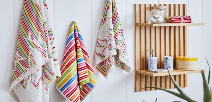 Ideas para redecorar el ba o por poco dinero for Zara home toallas bano