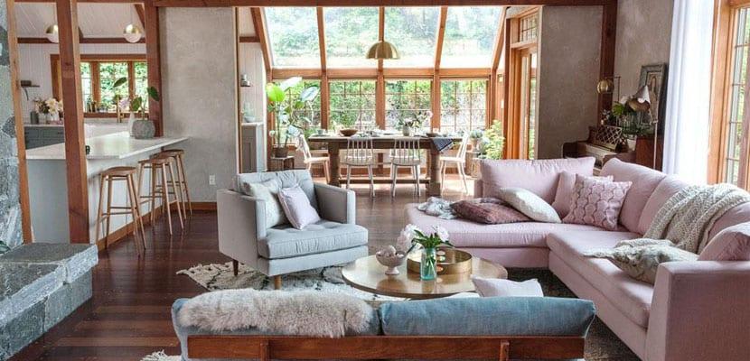 C mo decorar los espacios abiertos en casa Decoracion de espacios abiertos en casa