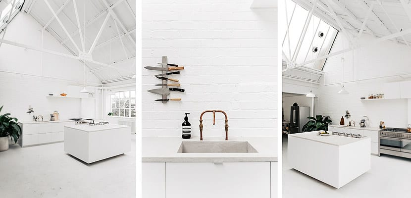 Cocina blanca- Studio 8A