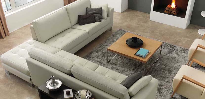 Color en el sofá