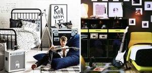 Dormitorios de temática rock para adolescentes