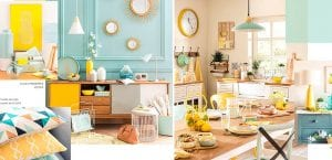 Tendencias Maisons du Monde: Mint and lemon