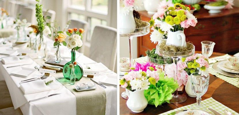 Mesas Decoradas Para La Primavera