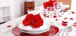 Mesa de San Valentín