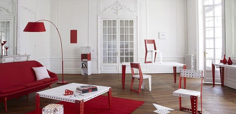 Muebles Meccano