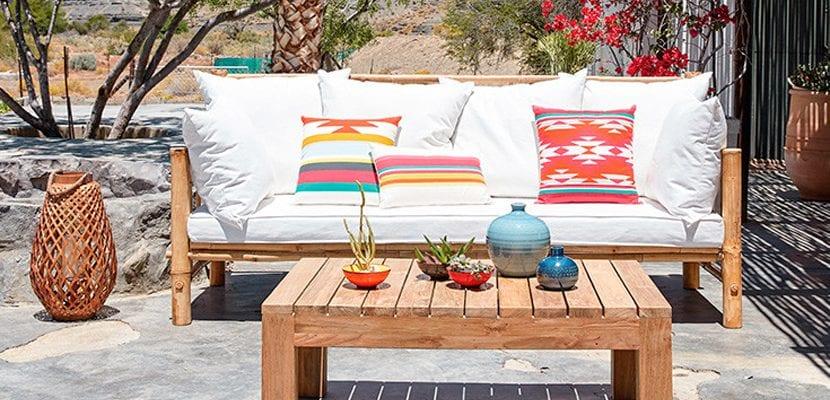 Terraza colorida
