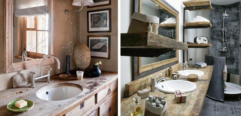 Baños Rusticos Fotos | Como Crear Banos Rusticos Ideas Decorativas