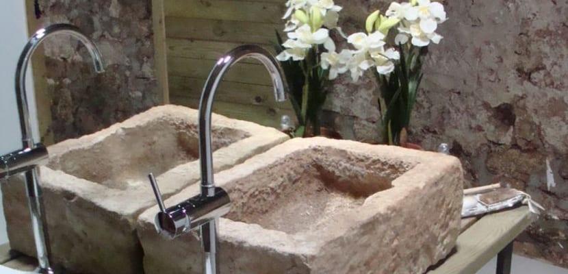 Lavabos de piedra