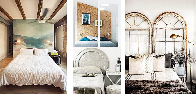 Tipos de cabeceros de cama para decorar el dormitorio for Cabeceros de cama originales