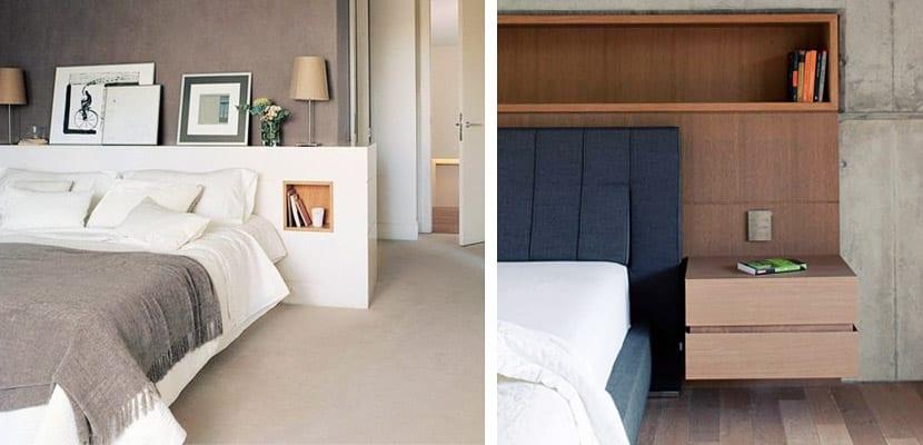 Tipos de cabeceros de cama para decorar el dormitorio