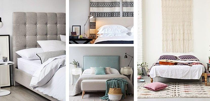 Cabeceros de cama textiles