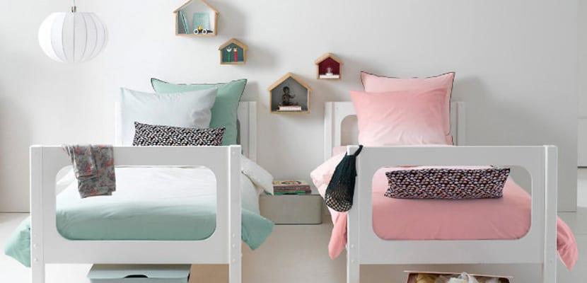 Tipos y estilos de camas infantiles cu l escoger - Habitaciones infantiles de dos camas ...