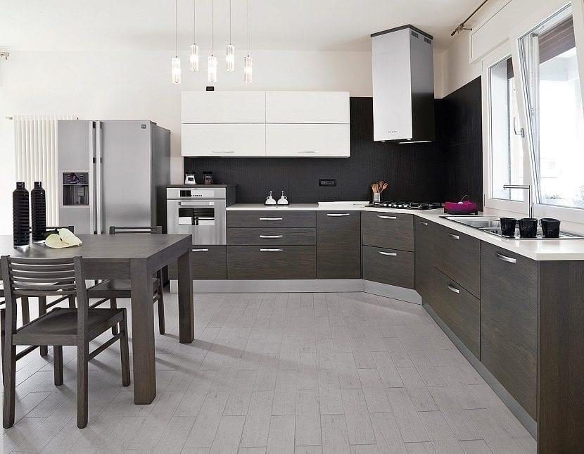 C mo conseguir decorar una cocina moderna for Una cocina moderna