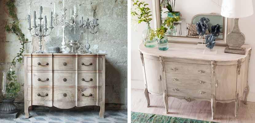 Decorar el hogar con c modas vintage Muebles de diseno vintage