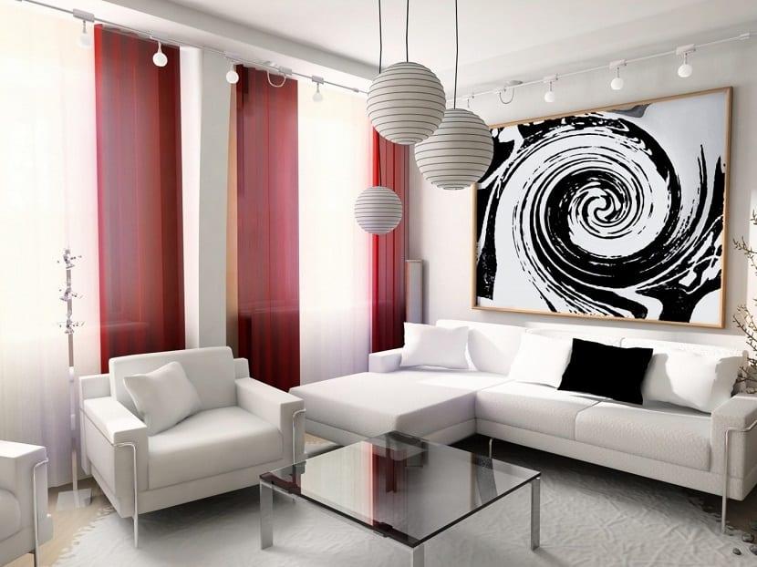 Ideas de cortinas para el sal n - Modelos cortinas salon ...