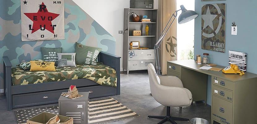 Dormitorio militar