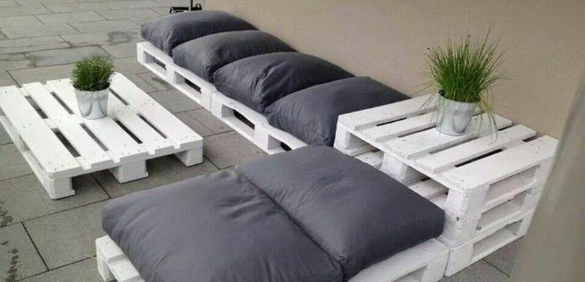 Ideas para crear muebles con palets - Muebles de palets para jardin ...