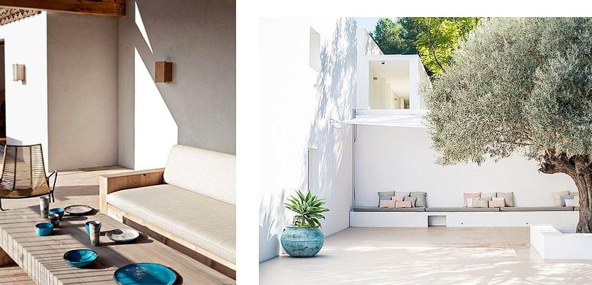 Terraza minimalista