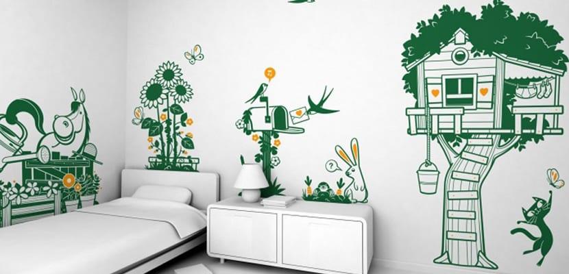 Ideas en vinilos decorativos para el hogar for Vinilos decorativos hogar